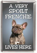 "French Bulldog Fridge Magnet /""THE MORE I LOVE MY DOG/"" No 1 by Starprint"
