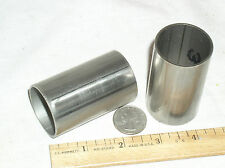 """8.625/"""" +OR- Stainless Steel Tubing 1.660/"""" OD ID 1.38/"""" Lengths 4.25/"""" 18 Pcs"""