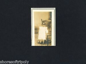 19th C. AFRICAN AMERICAN LITTLE GIRL OUTDOORS~ID'd TEXAS FAMILY PHOTO ALBUM ~ TX