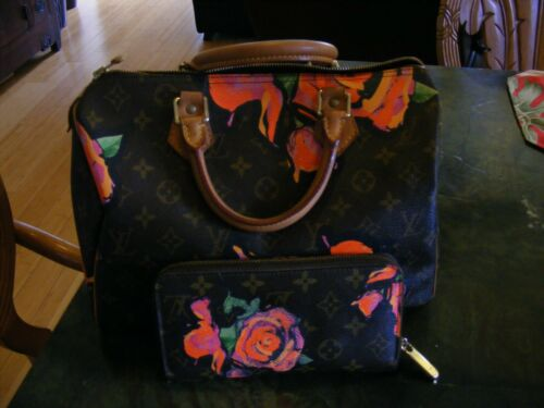 Louis Vuitton Stephen Sprouse Roses Monogram Canva