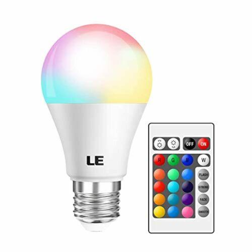 Smart LED Light Bulb Multicolour A19 E26 6W Bulbs RGB Bulb Colour Changing Party