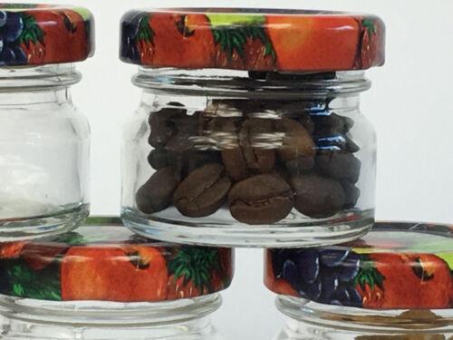 150 Mini Sturzgläser 30 ml Marmeladengläser Einmachgläser Einweckgläser Obst