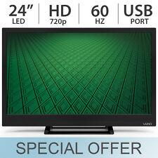 "VIZIO 24"" Inch 720p LED LCD HDTV 60Hz TV with USB Port D24HN-D1 - NEW"