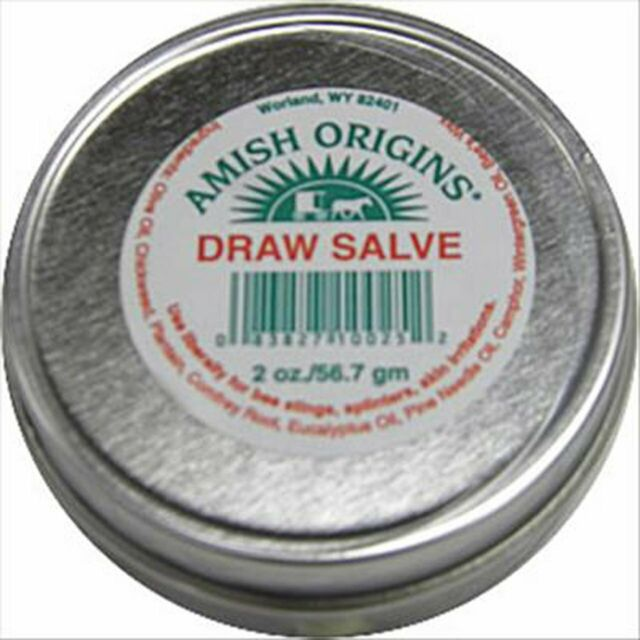 Draw Salve by Amish Origins, 2 oz