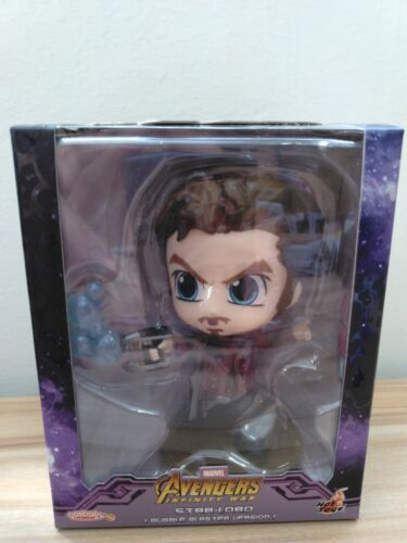 hot toys Cosbaby Marvel Avengers Infinity War STAR LORD Bubble Blaster