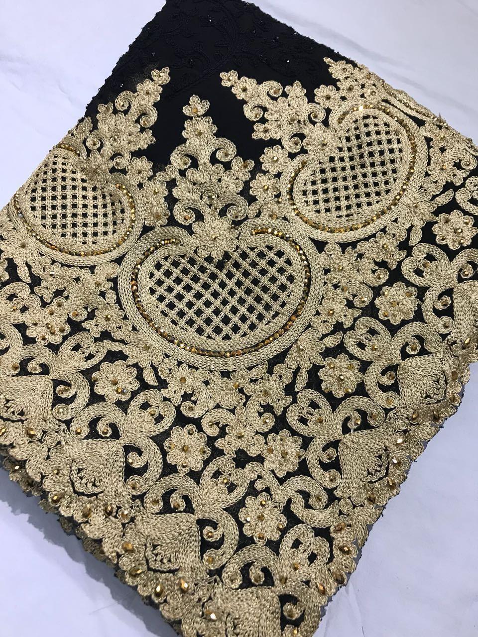 Indian Saree Pakistani Bollywood Ethnic Wedding Party Wear Blouse Sari