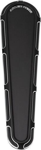 Arlen Ness Black Cut Beveled Dash Cover Insert for Harley FLHX//FLTRX