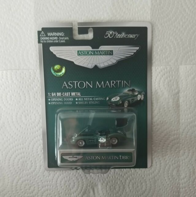 Shelby Collectibles Aston Martin Dbr1 Convertible Green 50th Anniversary 1 64 For Sale Online