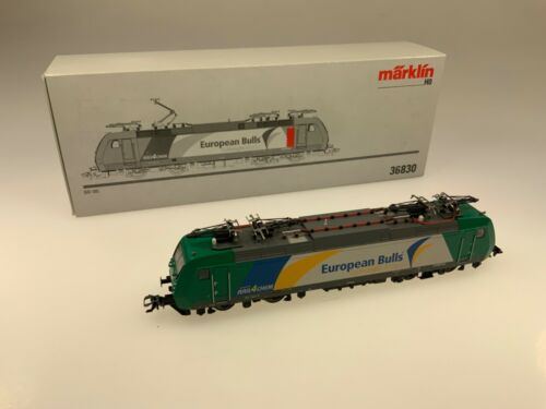 Märklin E-Lok BR 185 542-8 European Bulls 87//880-881 AC//Digital Art.Nr.36830