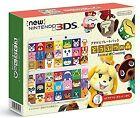 Nintendo 3ds Console Animal Crossing Kisekae Plate Pack Happy Home Japan New.