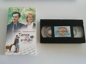 TIENES-UN-E-MAIL-VHS-COLECCIONISTA-EDICION-ESPANOLA-TOM-HANKS-MEG-RYAN