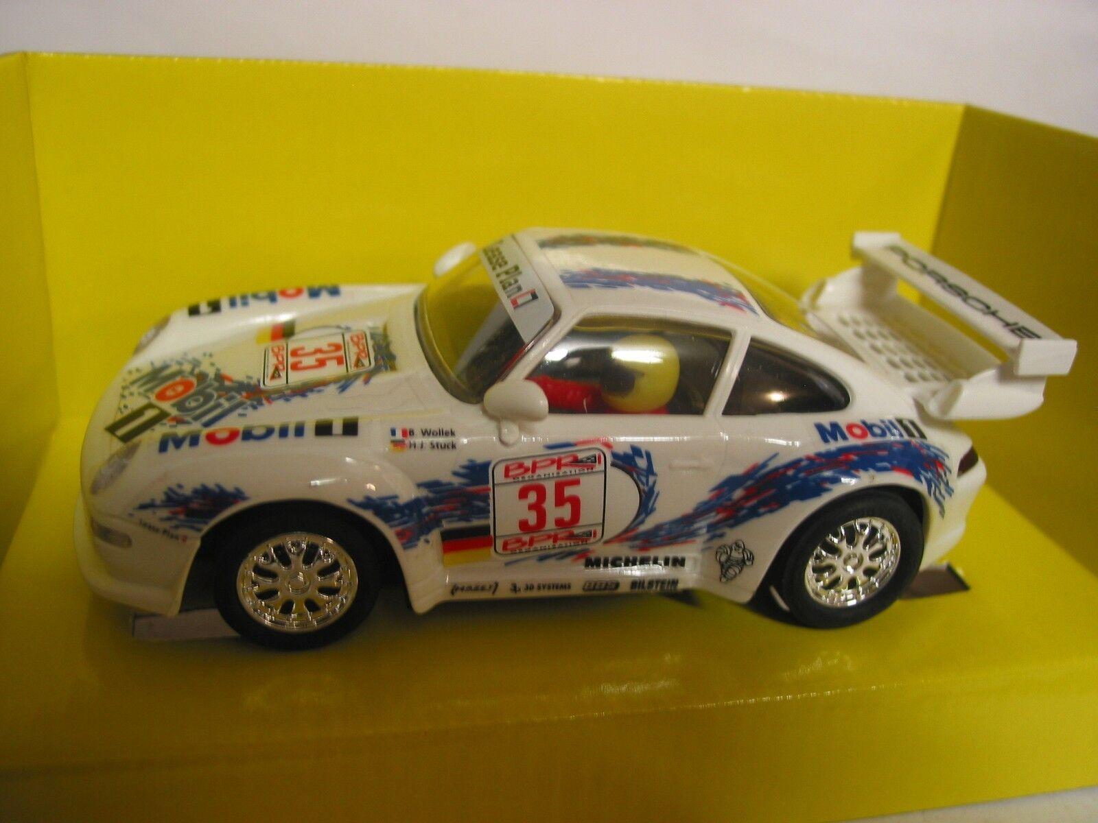 SCX 1 32ND SLOT CAR 83310.20 PORSCHE 911 1996 LE MANS SCALEXTRIC COMPATIBLE BNIB
