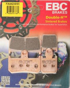 EBC-FA442-4HH-SINTERED-BRAKE-PADS-PAD-SET-FRONT-YAMAHA-YZF-R1-YZFR1-07-08-09