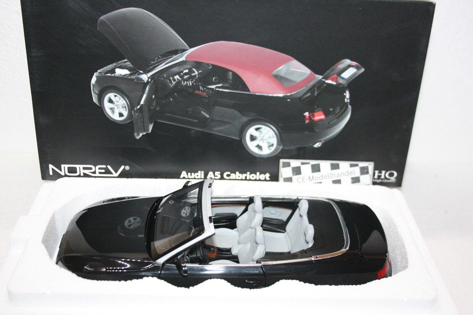 Audi  A5 Cabriolet • 2009 • NEU • Norev • 1 18    Kaufen