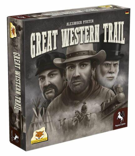 Pegasus Spiele Great Western Trail Strategiespiel Viehzucht Texas Rinder NEU NEW
