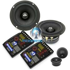 """CDT AUDIO ES-42i CAR 4"""" 150W RMS COMPONENT SPEAKERS MIDS TWEETERS CROSSOVERS NEW"""