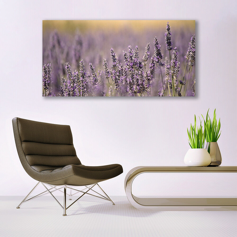 Canvas print Wall art on 140x70 Image Image Image Picture Flowers Floral 38f2ca