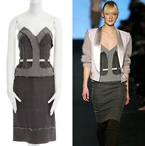 runway-STELLA-MCCARTNEY-grey-corset-reverse-deconstructed-denim-dress-IT40-S