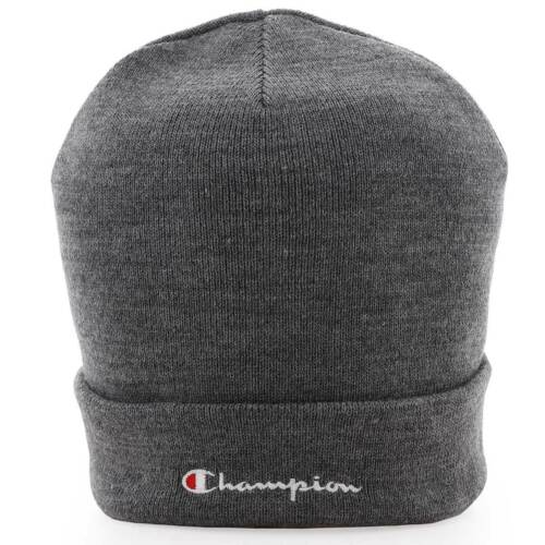 Retro Champion Beanie Hat Grey BNWT