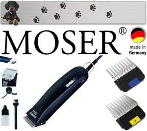 Moser Max 45 Professional Dog Clipper Plus Bonus peignes en acier inoxydable 10mm 16mm