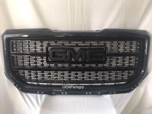 23496245-OEM-2016-2018-GMC-Sierra-1500-Denali-Grille-Painted-Onyx-Black-GBA