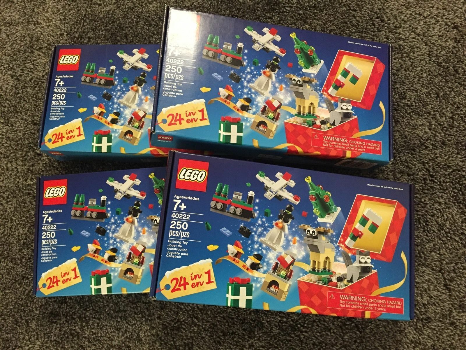 4x Lego 40222 Promotional Exclusive 24-In-1 Christmas Christmas Christmas Countdown Set 4 Sets b25c58