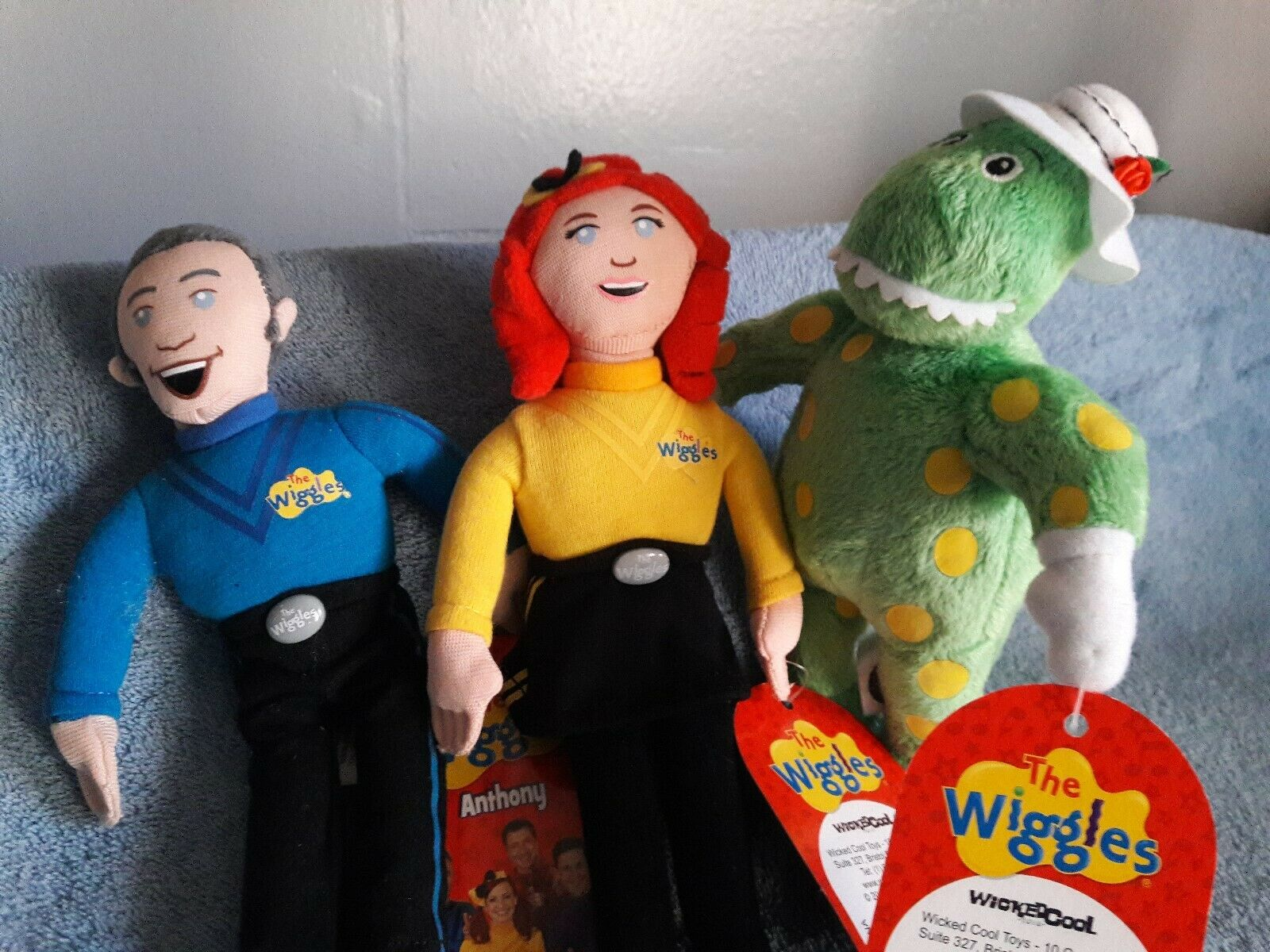 The Wiggles 2013 Wicked Cool Toys Lot New HTF
