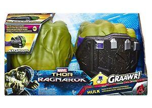 Hasbro Avengers Hulk Pugni elettronici con effetti sonori bimbo 5 D56