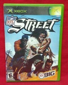 NFL Street Football Microsoft Xbox OG Game Complete Working