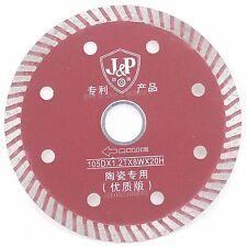 "4"" Turbo Rim Diamond Circular Saw Blades Wet or Dry Special Cutting Ceramic Tile"