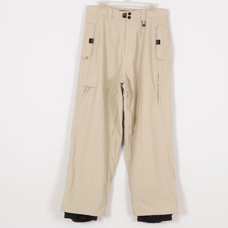 AIRWALK Men's Winter Ski Pants Size L Large Beige
