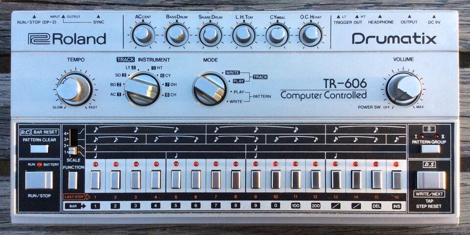 Groovebox, Roland TR-606