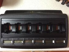 Motorola Impres 6 Unit Charger Wpln4198a With Lcd Displays Ht750 Ht1250 Pr860