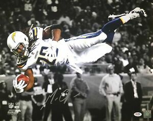 Image is loading Melvin-Gordon-autographed-signed-16x20-photo-NFL-Los- 501851741