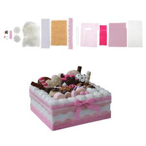 Beautiful Cake Box Felting Needle Kit Felt Kit Needlefelted Items for Children