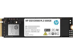 HP EX900 M.2 500GB PCIe 3.0 x4 NVMe 3D TLC NAND Internal Solid State Drive (SSD)