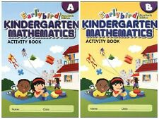 Singapore Earlybird Kindergarten Math STD ED Activity Book A+B - FREE EXP SHIP