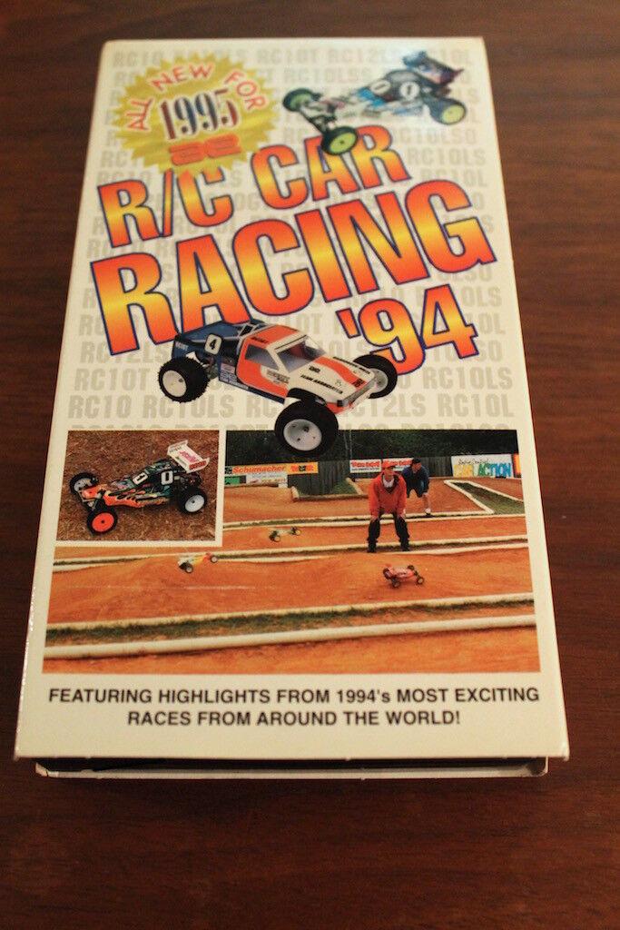 Vintage Team Associated VHS Tape R C C C Car Racing 1994 1 12 1 10 RC10 2Hours 1350ef