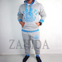Jogging Anzug Jacke Hose Jogginganzug Kontrast Fitnessanzug S M L XL XXL NEU