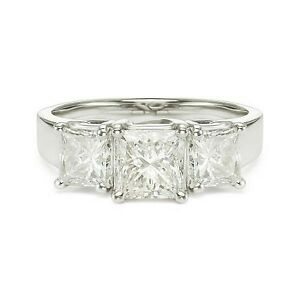 3-08ct-E-VS2-PRINCESS-CUT-DIAMOND-ENGAGEMENT-RING-14K-WHITE-GOLD