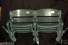 Texas Rangers Baseball Globe Life Park Ballpark Game USED Pair Stadium Seats COA