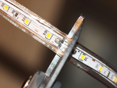 1-50m led Z60//120 slim 230V led strip leiste streifen superhell ip68 Dimmbar