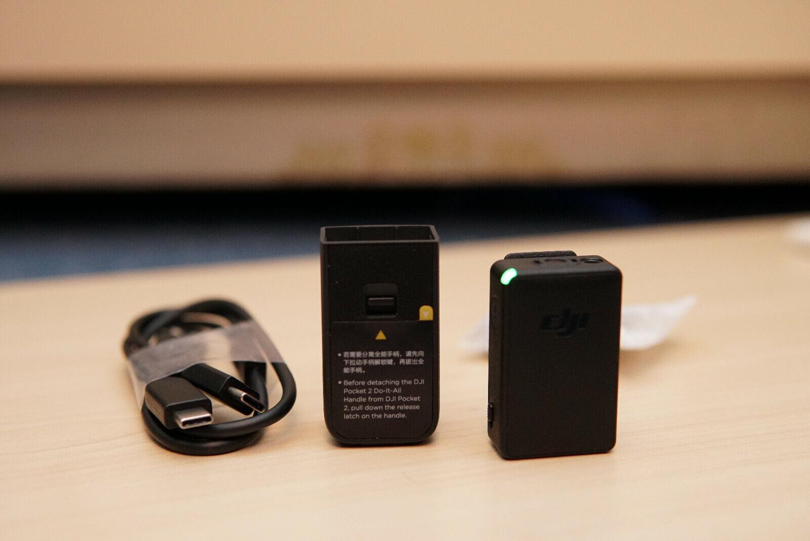 DJI Osmo Pocket 2 Do-It-All Handle + Wireless Microphone Transmitter
