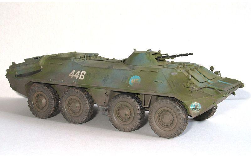 Soviet BTR-70 1 35 built