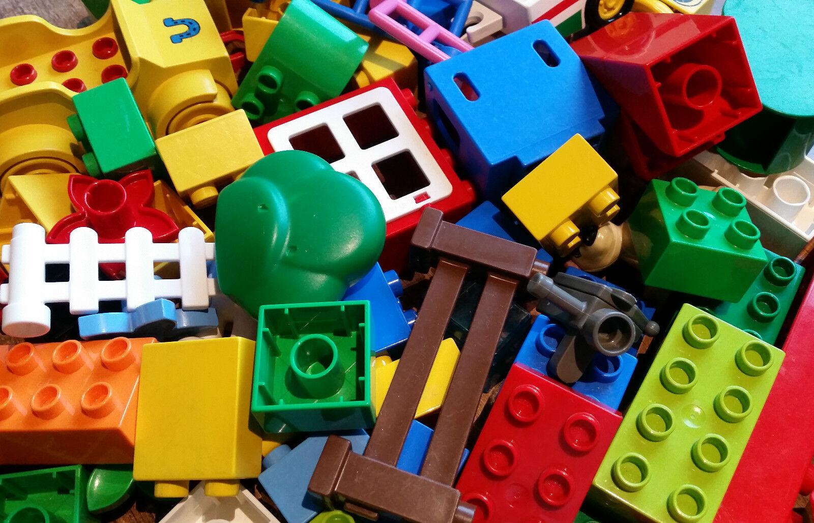 200 LEGO DUPLO pietre   BASIC-SPECIALE - & motivo pietre colorata mescolata la raccolta kg