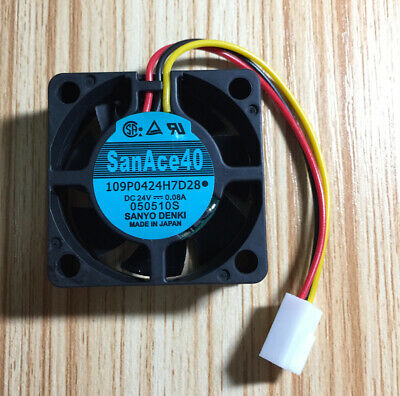 San Ace 40 109P0424H7D28 24V 0.08A CNC machine inverter fan
