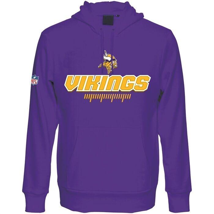 NFL Hoody Minnesota Vikings hoodie kaputzenpullover Hooded Sweater gravia