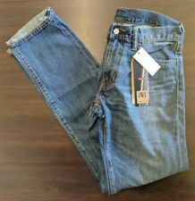 Cotton 511 Slim Jeans Mens 100 Fender Levi's Selvedge Blue Denim wOq68qH
