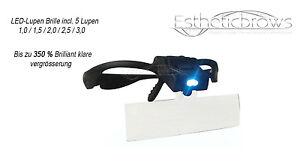 LED-Lupen-Brille-incl-5-Lupen-1-0-1-5-2-0-2-5-3-0