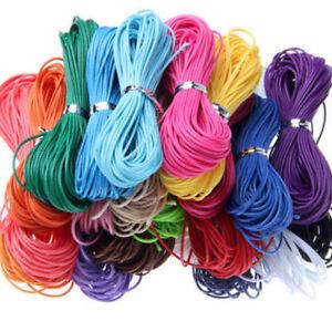Waxed-Wax-Cotton-Cord-String-Linen-Thread-Wire-Jewelry-Bracelet-Making-10M-1mm